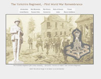 WW1 Remembrance, the Yorkshire Regiment